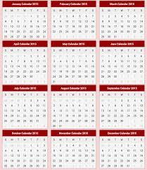 printable calendar 2015