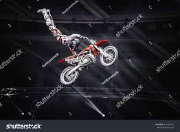 freestyle motocross ramps moscow14 march2015extreme sport competition showfreestyle