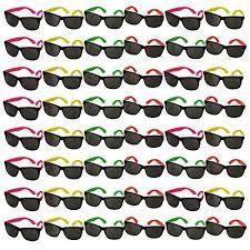 bulk wholesale lot neon sunglasses hats
