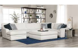 Average Couch Length by Glamour Ii 3 Piece Sectional Living Spaces