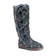 black sweater boots luks felicity s water resistant sweater boots