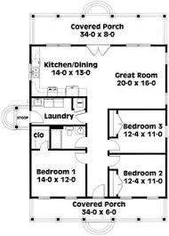 narrow lot lake house plans farmhouse style house plan 3 beds 2 baths 1354 sq ft plan 42