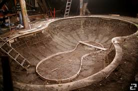 Backyard Skate Bowl The Maya Pool Diy Backyard Pool Confusion Magazine