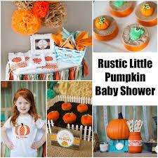 rustic little pumpkin baby shower creative juice