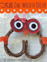 Fall Homemade Decorations - 12 fall owl crafts ideas and tutorials uncommon designs