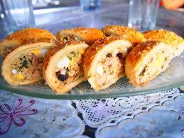 cuisine tunisienne pate au thon pâté roulé thon fromage les recettes de youssrette