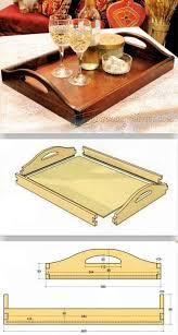 diy butler tray woodworking plans and projects woodarchivist