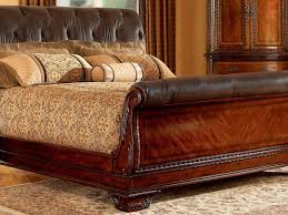 sleigh bed sleigh bed king size digihome porter cherry cameron