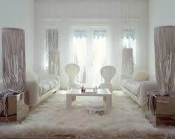 White Rugs White Fluffy Rug Ash Grey Thick Polysilk Floor Rug Shaggy