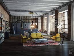Loft Industrial by Dining Room Industrial Loft Design 7 Inspirational Loft
