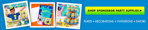 custom spongebob invitations u0026 thank you notes party city