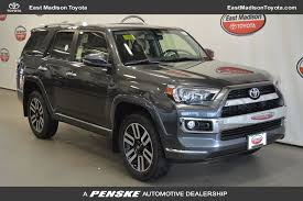 toyota 4runner limited 4wd 2018 toyota 4runner limited 4wd at east toyota serving