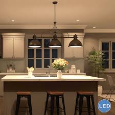 Kitchen Islands With Sinks Rosewood Black Amesbury Door 3 Light Kitchen Island Pendant