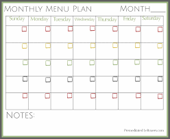 printable meal planner free free printables from premeditated leftovers