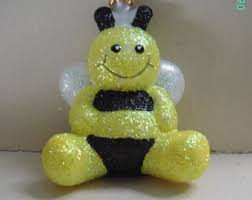 vintage bee ornament etsy