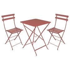table de jardin fermob soldes bistro métal de fermob muscade modèle d exposition throughout