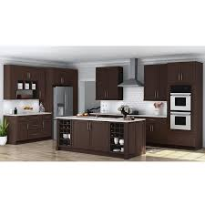 ready to assemble cabinets home depot hton bay shaker ready to assemble 36 x 34 5 x 24 in