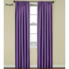 Brown Blackout Curtains Interior Cotton Light Lavender Blackout Curtains With Dark Rod