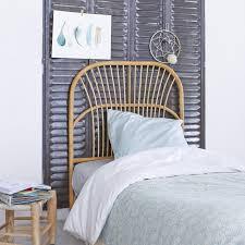 chambre en rotin tete de lit simple vente de meubles en tiges de rotin chambre