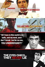 Gangster Love Quotes by Best 25 Scarface Quotes Ideas On Pinterest Godfather Quotes