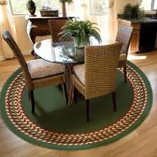 Round Rug Dining Room by Round Rug Under Dining Room Table Love This Look U003c3 Round