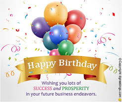 business birthday cards wishing you lots of success business birthday cards