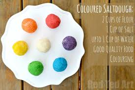 30 salt dough crafts for ted s