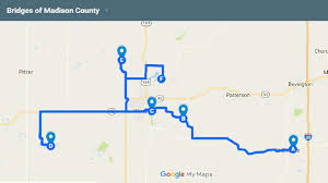 bridges of county map guest column iowa by trail
