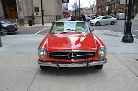 used mercedes convertible 1970 mercedes benz 280sl convertible stock 13320 for sale near