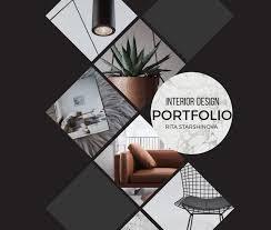 interior design portfolio for job interview pdf rita starshinova