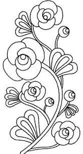 Rose Flower Design Free Hand Embroidery Flowers Patterns Vintage Flowers Na