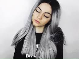 trendy grey hair trendy hair colours bblunt