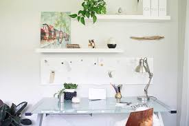 Floating White Shelves by How To Decorate With Floating Shelves Home Office Midcentury With