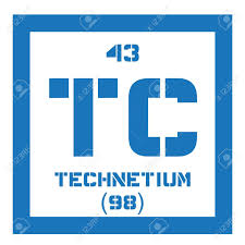 radioactive elements on the periodic table technetium chemical element lightest radioactive element colored