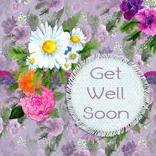 free illustration get well flower greeting card free image