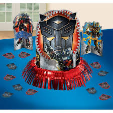 transformers party transformers party supplies table decoration kit at toystop