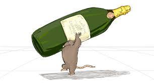 cartoon alcohol bottle heist rats for ratatouille ride u2014 valerie lapointe