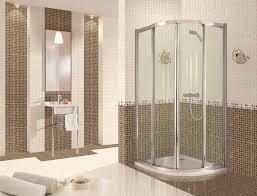 bathroom minimalist design ideas beige pattern ceramic full size bathroom fascinating design ideas corner shower room sliding glass door