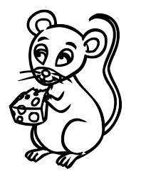 freshcoloring printable mice coloring pages