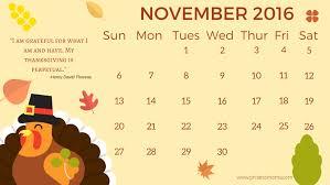 printable thanksgiving 2016 calendar happy thanksgiving