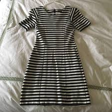 56 off french connection dresses u0026 skirts black and white