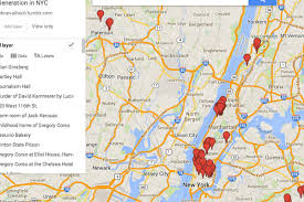 Map Of Queens Ny Mapping The Beat Generation U0027s Artsy Historic New York Haunts