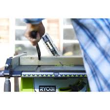 1800w corded table saw and stand power tools ryobi tools