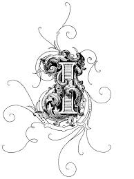 things to look at ornamental letters typography design