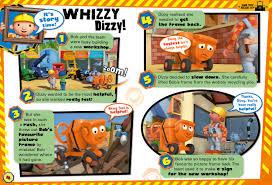 bob builder magazine print outs fun kids uk u0027s