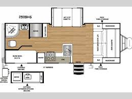 horse trailer living quarter floor plans new 2016 forest river rv vibe extreme lite 250bhs travel trailer