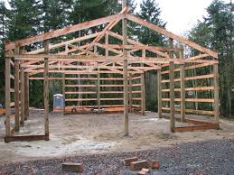 Pole Barns by Pole Barn Roof Truss Roofing Decoration