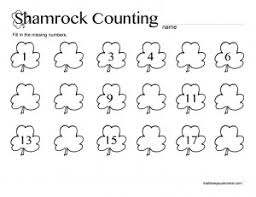 st patrick u0027s day preschool printable worksheets st patrick u0027s