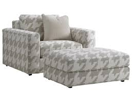 Oversized Chair by Lexington Laurel Canyon Bellevue Oversized Chair And Ottoman Set