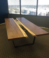 custom modern contemporary industrial conference table by aaron